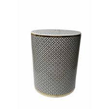 ceramic garden stools. Contemporary Ceramic Garden Stool Black_and_white Stools