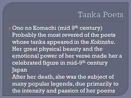 poetry ppt video online 13 tanka