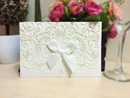 2016 New Wedding Invitations Cards Personalized Customized Hollow