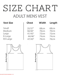 Montage Size Chart Usa Fourth July Montage Mens Vest 156