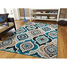 teal and grey area rug. New Modern Blue Gray Brown Rug 5x8 Area Casual 5x7 Large Rugs Contemporary Teal And Grey