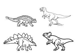 Kleurplaat Dinosaurussen Afb 9101 Images