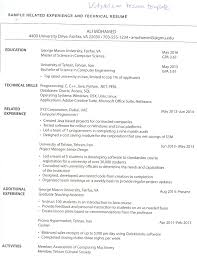 I Need A Technical Resume Template Where Can I Find One That Looks