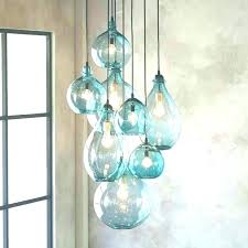sea glass chandelier sea glass chandelier lighting celeste sea glass chandelier