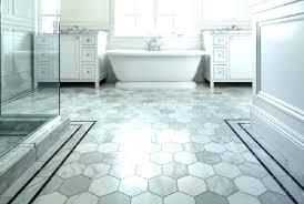 white hexagon tile bathroom floor hex tile bathroom floor white hexagon mosaic black and t black