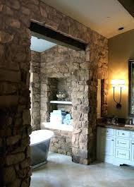 exotic decorative stone walls stone walls ideas rustic stone bathroom ideas stone walls ideas shelves white