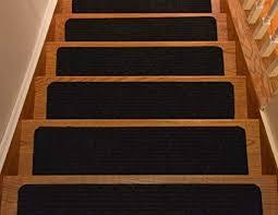 cool black stair treads of collection set 13 indoor skid slip resistant carpet