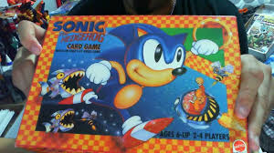 The card game, from score entertainment, debuted in august 2005. Sonic The Hedgehog Card Game By Matel Games Review Youtube