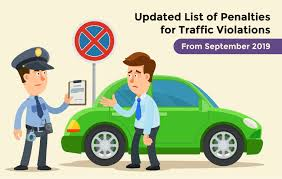 Road Safety Chart In India Updated List Of Rules For Traffic Violations In India 2019