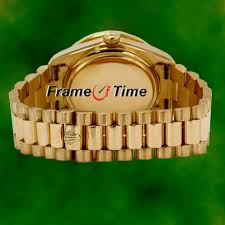 rolex mens president day date 18k gold black face diamond quickset rolex mens president day date 18k gold black face diamond quickset watch 18038