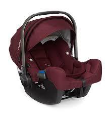 nuna pipa infant car seat w base berry