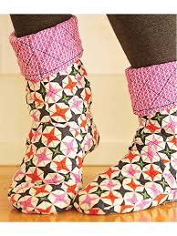 Make a pair of comfy slipper socks with recycled sweaters, quilted ... & Make a pair of comfy slipper socks with recycled sweaters, quilted cotton,  minky or Sherpa fabric. These simple slippers use only 3 pattern pieces and  are ... Adamdwight.com