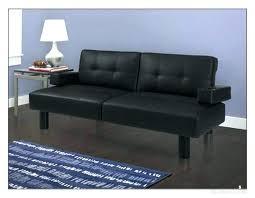 black futon futon modern futon sofa bed mainstays faux leather armrests sleeper futons throughout