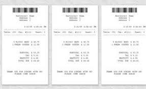 Credit Card Receipt Template Receipt Template