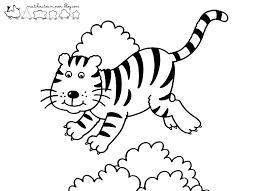 18 Dessins De Coloriage Tigre Maternelle Imprimer