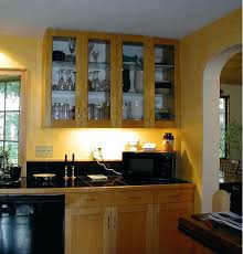 upper kitchen cabinets with glass doors on both sides s ikea cabinet dimensions