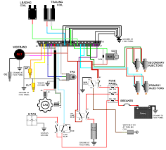 how to megasquirt your 2nd gen rx 7 wire the ecu panel, wideband CA18DET Wiring-Diagram at Ms3 Pro Wiring Diagram