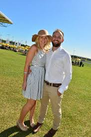 Matt and Melanie Peters at Corbould Racecourse for the Caloundra ... | Buy  Photos Online | Northern Star