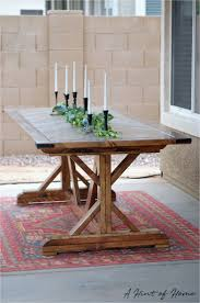 diy restoration hardware coffee table ana white diy outdoor dining table diy projects