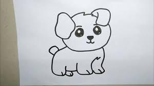 hướng dẫn Vẽ con chó con đáng yêu - How to draw a Puppy - YouTube