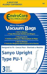 kenmore vacuum bags 50403. sanyo scpu1 performax series vacuum cleaner bags - 3 pack kenmore 50403