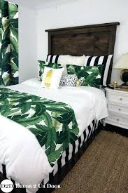 tropical print bedding tropical bed