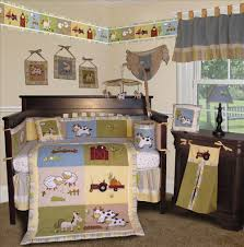 Furniture Cow Cars Pattern Baby Farm Animal Nursery Colored Themes  Primetime Parenting Decoration Products