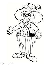 Coloriage Cirque Clown Ballonllll Duilawyerlosangeles