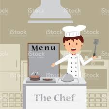 Dessin Anim Mignon De Petit Chef De Cuisine La Cuisine