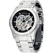 armitron men s watches armitron men s stainless steel automatic skeleton watch