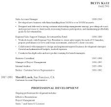 ... Example Resume Senior Management Investment Client Relationship  Development