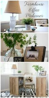 home office makeover pinterest. Farmhouse Office Makeover | This Easy Office Makeover Was And  Inexpensive Using Products From Better Home Pinterest