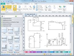 electrical diagram software create an electrical diagram easily electrical diagram software