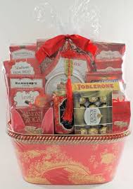 lunar new year good luck large gift basket from costco please read