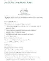 Data Entry Job Resume Sample Data Entry Clerk Resume Data Entry Job