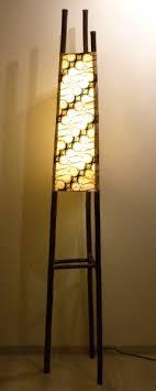 In De Pieremegoggel Bamboe Lamp Javaanse Batik Jaren 70