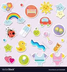 Elements Of Design For Kids Baby Stickers Kids Children Design Elements For