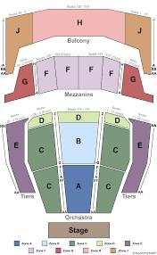 Zellerbach Hall Seating Charts