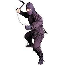 Ninja Suit Size Chart Tiger Claw Black Ninja Uniform Ninja Suit Size M B002sil4l6