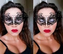 masquerade mask eye makeup saubhaya