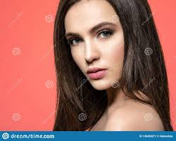 <b>Beautiful Woman</b> With <b>Long Curly</b> Hair Stock Image - Image of ...