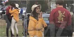 Image result for Malia Obama spotted smoking cigarette and kissing a mystery guy