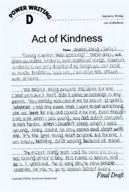 act of kindness essay cynictis what can resume do for you  random acts of kindness essay yahoo answers