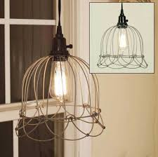 Wire Pendant Light Decorating With Wire Pendant Lights Golkitcom