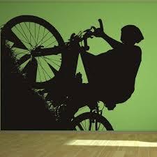 mountain bike wall art uk