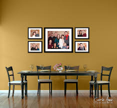 decorating with family photos on walls