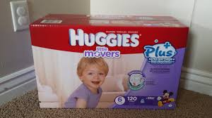huggies size 7 new huggies little movers plus diapers exclusively at costco