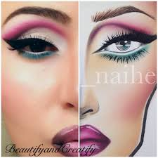 Recreation Of A Face Chart Beautify And Creatify D S