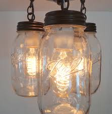 jar lighting fixtures. Image Of: Mason Jar Lights Fixture Lighting Fixtures L
