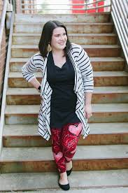 What To Wear With Patterned Leggings Magnificent Inspiration